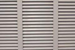 Window blinds shades. White window blinds shades sun shading device Royalty Free Stock Photo
