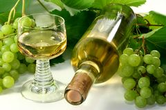 White wine Stock Photo