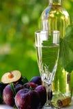 White wine . Stock Photo