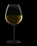 White wine. Glass of red wine. Vector illustration Royalty Free Stock Photography