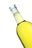 White wine. Bottle stock photography