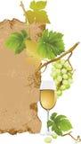 White Wine royalty free illustration