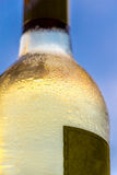 White wine with blue sky Royalty Free Stock Images