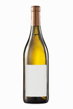 White wine bottle Royalty Free Stock Photos