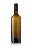White wine bottle royalty free stock photography