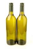 White Wine Bottles Stock Image