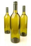 White Wine Bottles Royalty Free Stock Image
