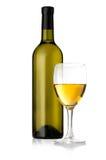 White wine bottles Stock Photography