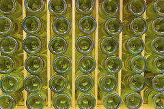 White wine bottles Royalty Free Stock Photos