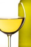 White wine close-up Stock Photo
