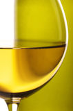 White wine close-up Royalty Free Stock Photography