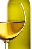 White wine close-up Stock Image