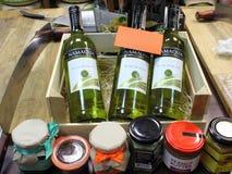White wine. Stock Images