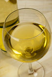 White Wine glass Stock Photography