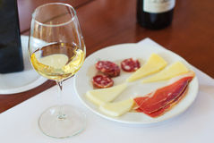 White wine Royalty Free Stock Image