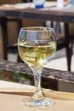 White wine  glass Royalty Free Stock Photos