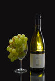 White wine grape Royalty Free Stock Images