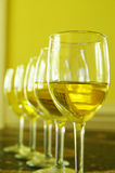 White wine group Stock Images