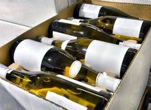 Free White Wine In Bottles Stock Photos - 29457923