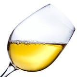 White wine isolated  on white background Stock Photography