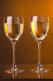 White wine shot Stock Photos
