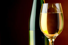 White wine shot Royalty Free Stock Photography