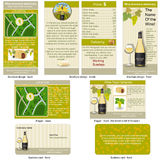 White wine stationary Stock Image