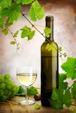 White wine still life Stock Photo