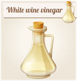 White wine vinegar. Detailed Vector Icon Stock Photography