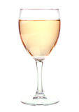 White wine in a wine glass Royalty Free Stock Image