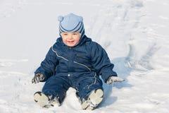 White winter fun Stock Images