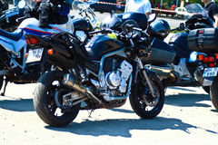 White Wolves Motorcycle Meeting Romania 2015 Stock Image