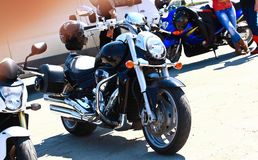 White Wolves Motorcycle Meeting Romania 2015 Stock Photography