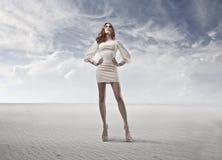 White Woman Stock Image
