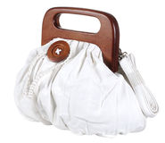 White woman bag Royalty Free Stock Photos