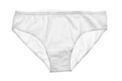 White women's panties Royalty Free Stock Photos