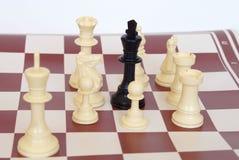 White won!. Good guys won Royalty Free Stock Images
