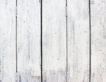 White wood. En wall texture background Stock Photography