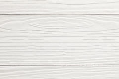 White wood. En wall texture background Stock Image