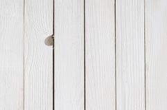 White wood background Royalty Free Stock Photography