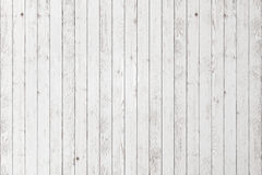 White wood background. Wood white textured planks. Wooden floor or wall background. Old timber grained desk Royalty Free Stock Photo