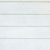 White Wood Boards Panel Royalty Free Stock Images
