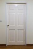white wood door, gate, doorway Royalty Free Stock Image