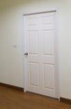 white wood door, gate, doorway Royalty Free Stock Images