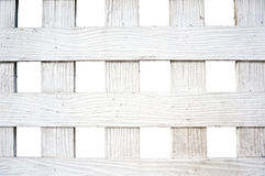 White wood lath texture Royalty Free Stock Photography
