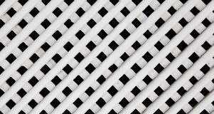 White wood lattice texture Royalty Free Stock Image