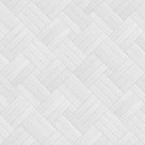 White wood parquet seamless texture. Stock Image