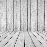 White wood perspective background Stock Images