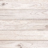 White Wood plank. Brown texture background Royalty Free Stock Photography