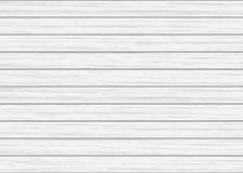 White wood plank texture. Vector background Stock Image